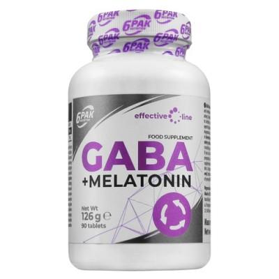6PAK GABA + Melatonin