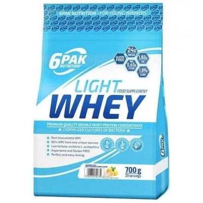 6PAK Light Whey protein