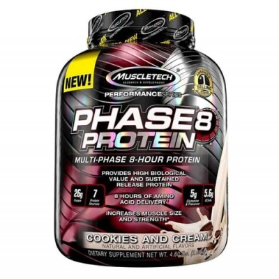 MuscleTech Phase 8 Protein Performance Series