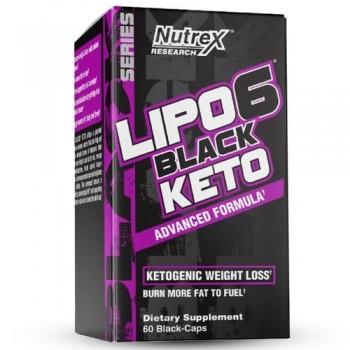 Nutrex Lipo-6 Black Keto