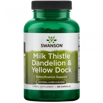 Milk Thistle & Dandelion & Yellow Dock
