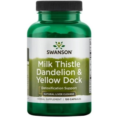 Milk Thistle & Dandelion & Yellow Dock