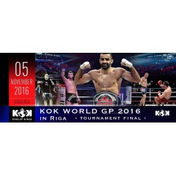 KOK WORLD GP 2016 IN RIGA FINAL