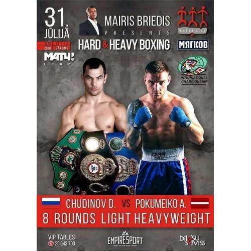 Hard & Heavy Boxing. Mairis Briedis presents
