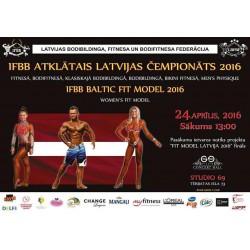 IFBB Atklātais Latvijas čempionāts 2016